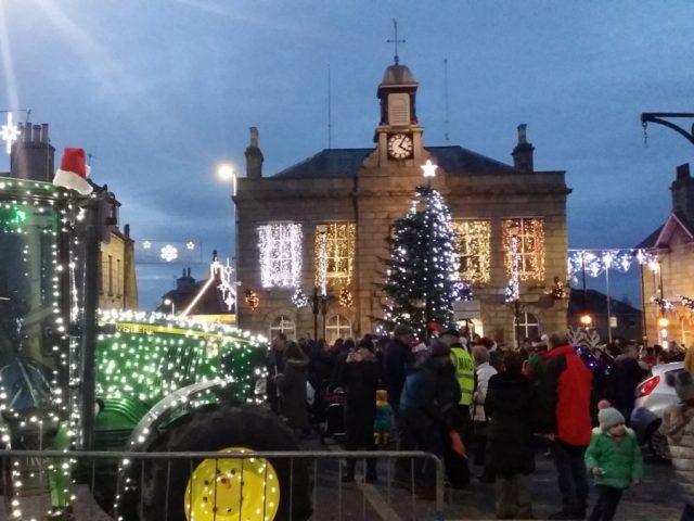 Oldmeldrum's Christmas Lights