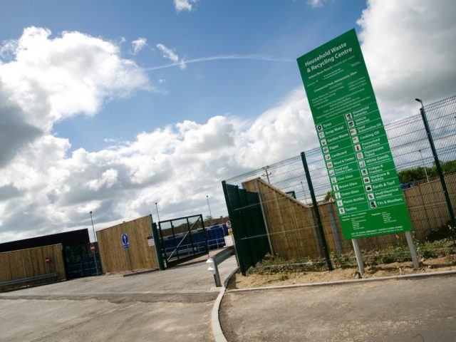 Partial re-opening of Household Recycling Centres